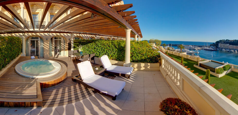 The Ultimate Luxury Trip to the French Riviera | View of the Diamond Suite with jacuzzi