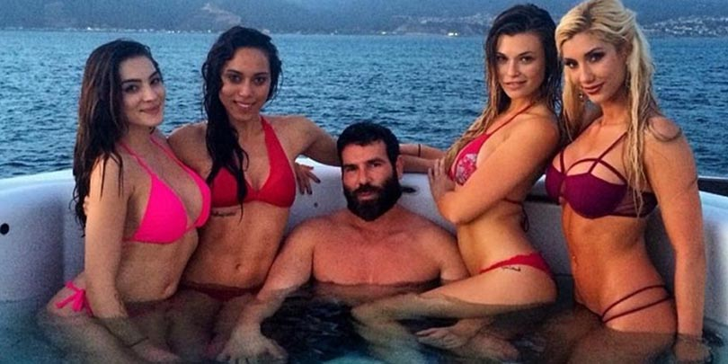 Dan Bilzerian with 4 hot chicks on yacht 49 Reasons Why It Is Better To Be Rich Than Poor