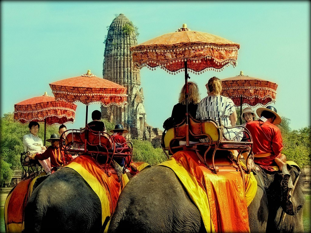 The Ultimate Luxury Trip to Thailand; Elephant Ride