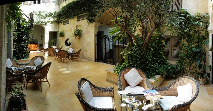 #9 The Xara Palace, Mdina, Malta | Most Romantic Hotels in Europe  | Top 10 [ Image Source: fayeandsteve.com]