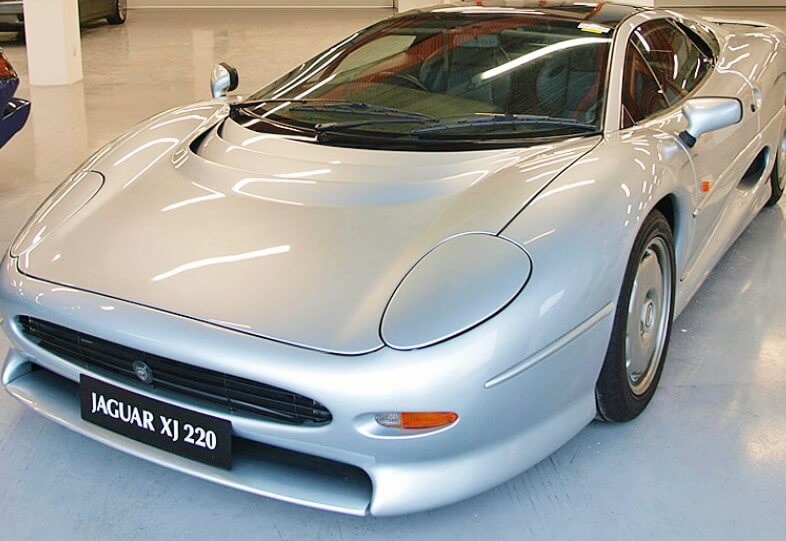 Most Expensive Jaguar Cars in the World -Number-5-–-Jaguar-XJ220-with-1.5-million