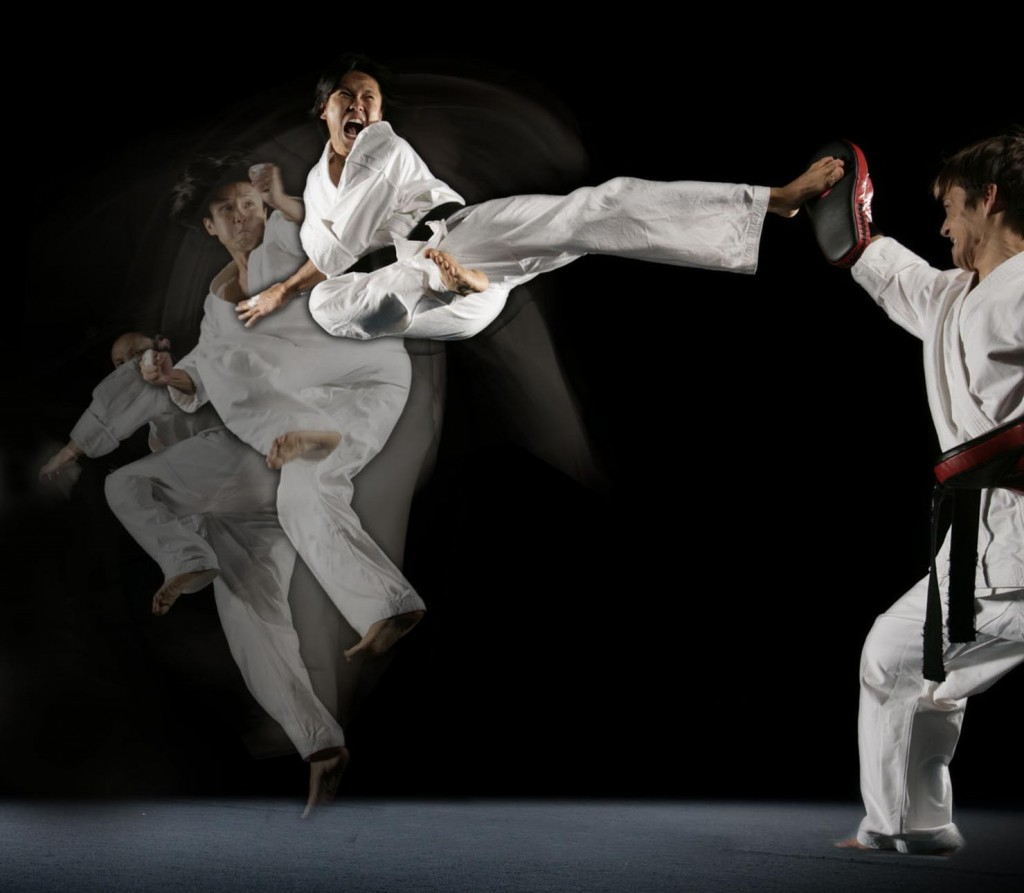 10 Best Martial Arts That Get You Ripped; Flying Side Kick