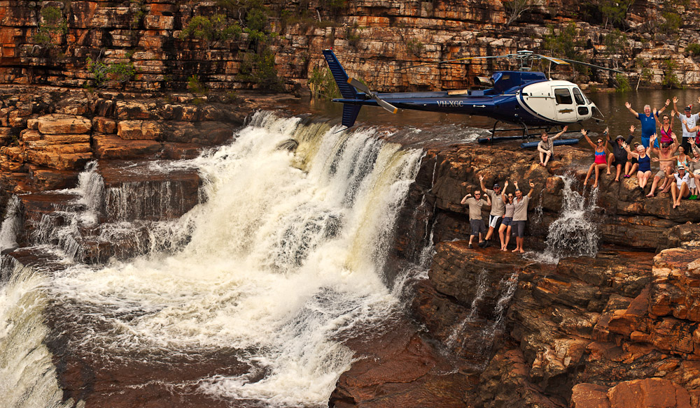 The Ultimate Luxury Trip to Australia  Kimberly Cruise - Chopper Experience