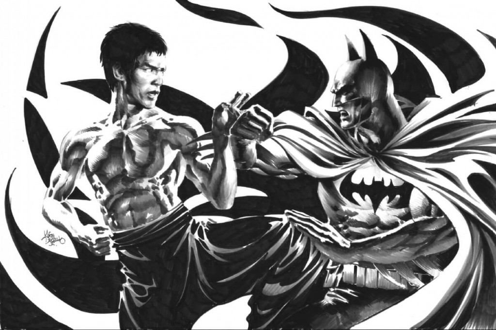 10 Best Martial Arts That Get You Ripped;Batman vs Bruce Lee;