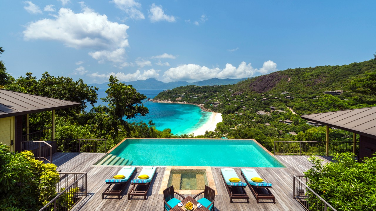 Seychelles Luxury Trip for Millionaires  Amazing view from Four Seasons