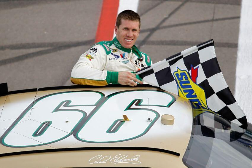 #10 Carl Edwards - Net worth: $50 million | The 10 Richest NASCAR Drivers in History via skirtsandscuffs.com