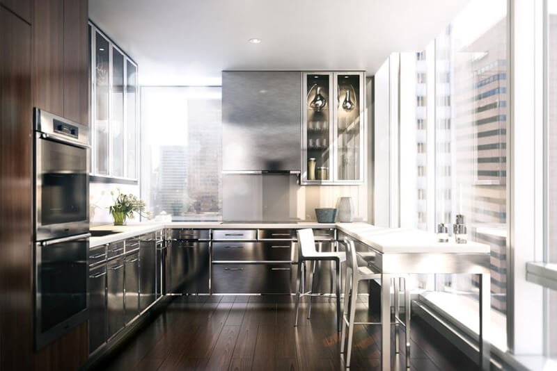Inside Baccarat's $60 Million Penthouse | via baccaratresidencesny.com