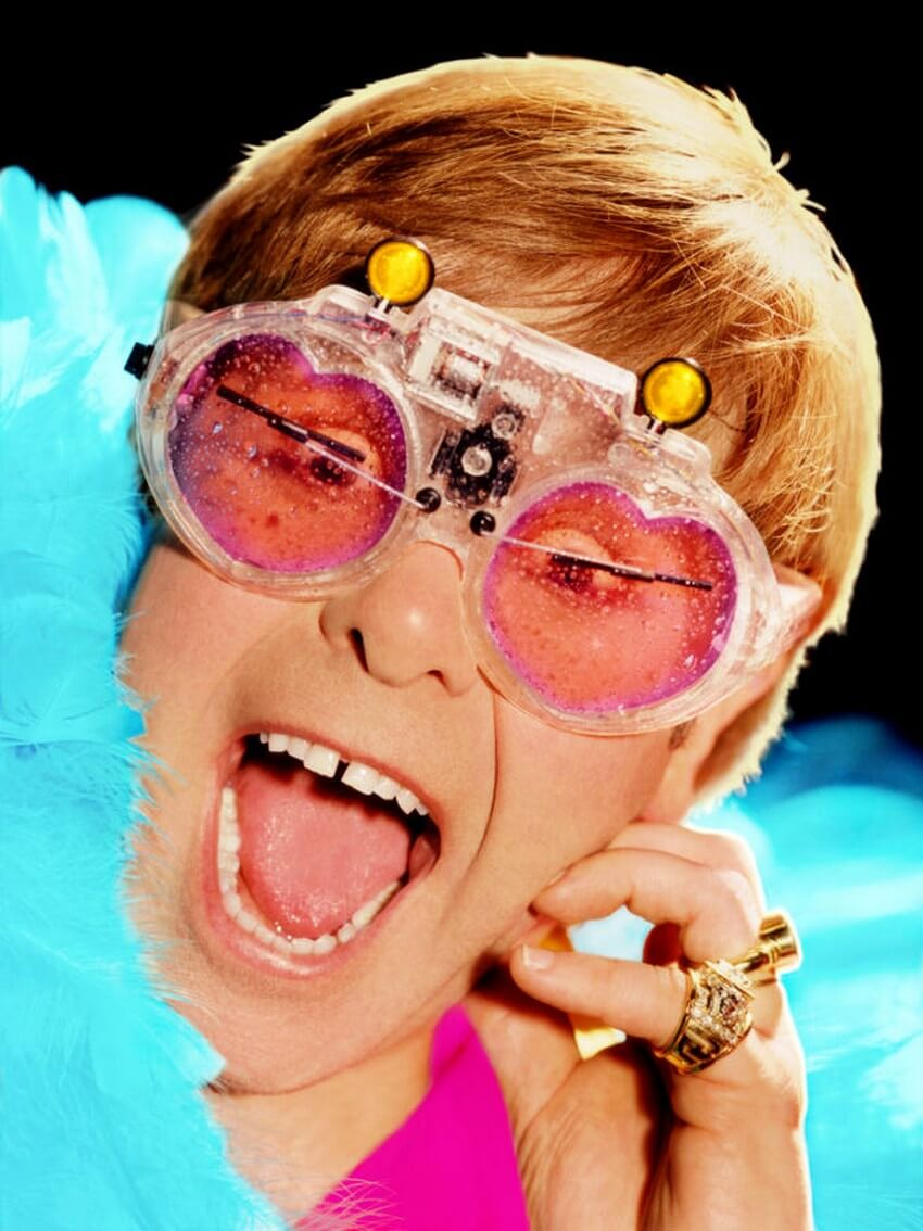 Elton John S Crazy Glasses Collection Alux Com