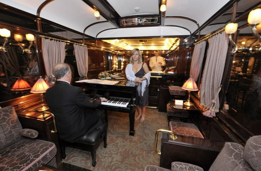 Embark on the Experience of Your Life: Orient Express Train Ride | The Bar Car