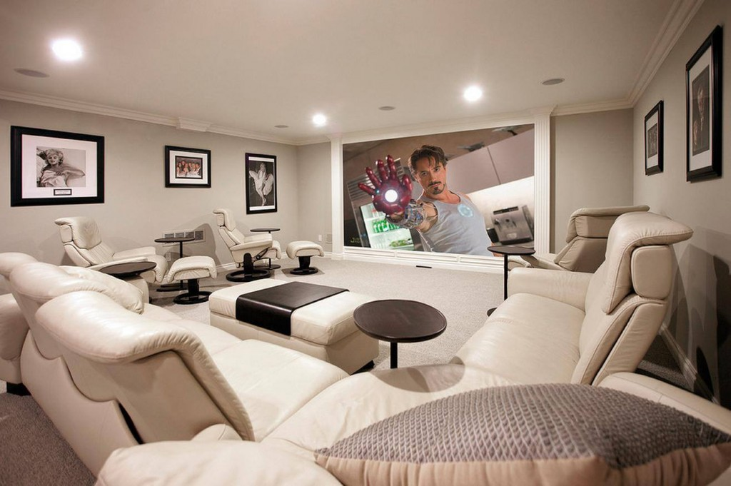Basement Home Theater Design Ideas For Your Modern Home New Basement Home Theater Design Ideas Property