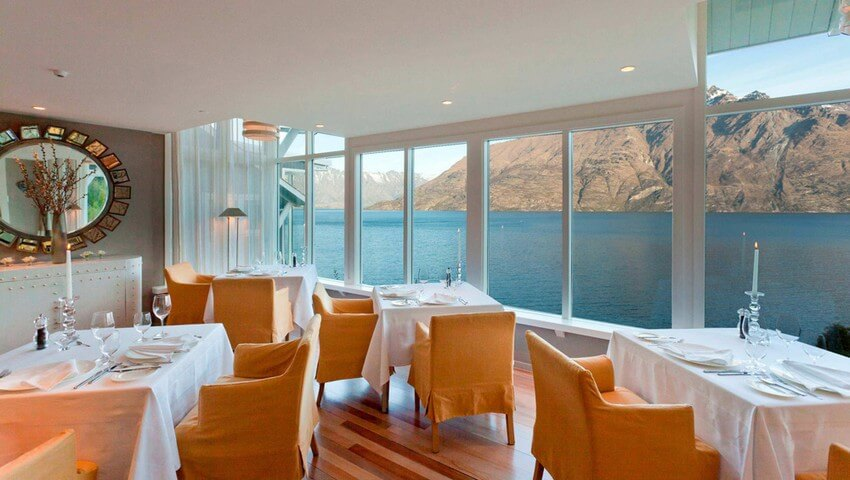 Spend Your New Zealand Vacation in this Unbelievably Stunning Hotel | Dining Room