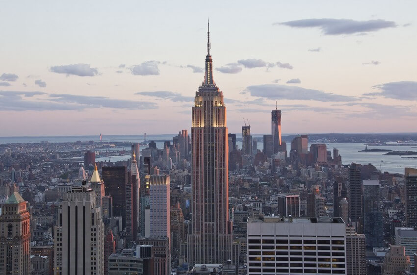 1.The Top of the Empire State Building | 10 Extraordinary Romantic Places in New York
