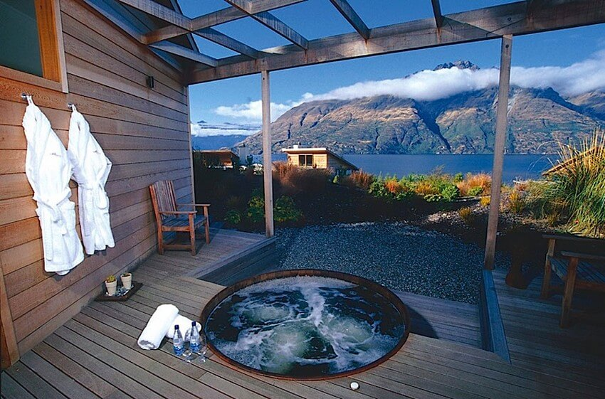 Spend Your New Zealand Vacation in this Unbelievably Stunning Hotel | Jacuzzi