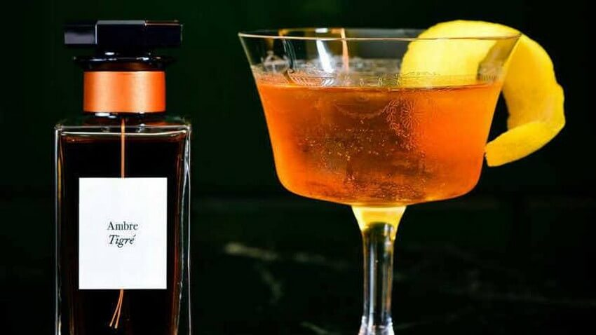 You Need to Try these Givenchy Perfume-Inspired Cocktails   Ambre Tigre