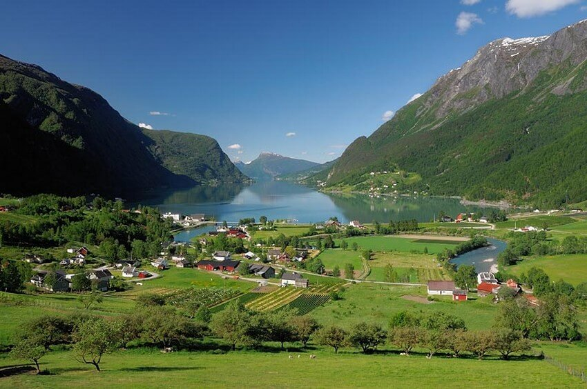10 Beautiful Places You Have to Visit this Spring | Sognefjord, Norway