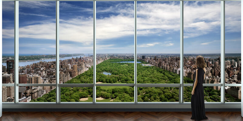 One57's $100.5 Million Penthouse | via www.one57.com