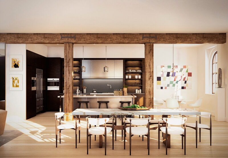 The Greenwich 443 Penthouse Is Your Future House - EALUXE | via zillow.com