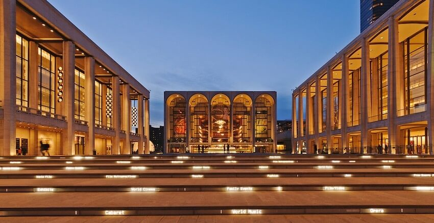 5.Lincoln Center | 10 Extraordinary Romantic Places in New York