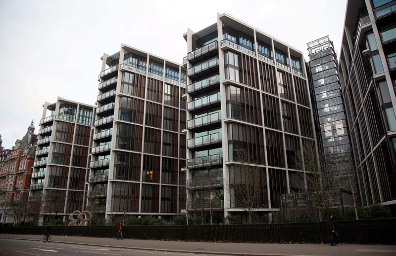 Most Expensive One Bedroom Apartment in U.K. - EALUXE | via  www.telegraph.co.uk