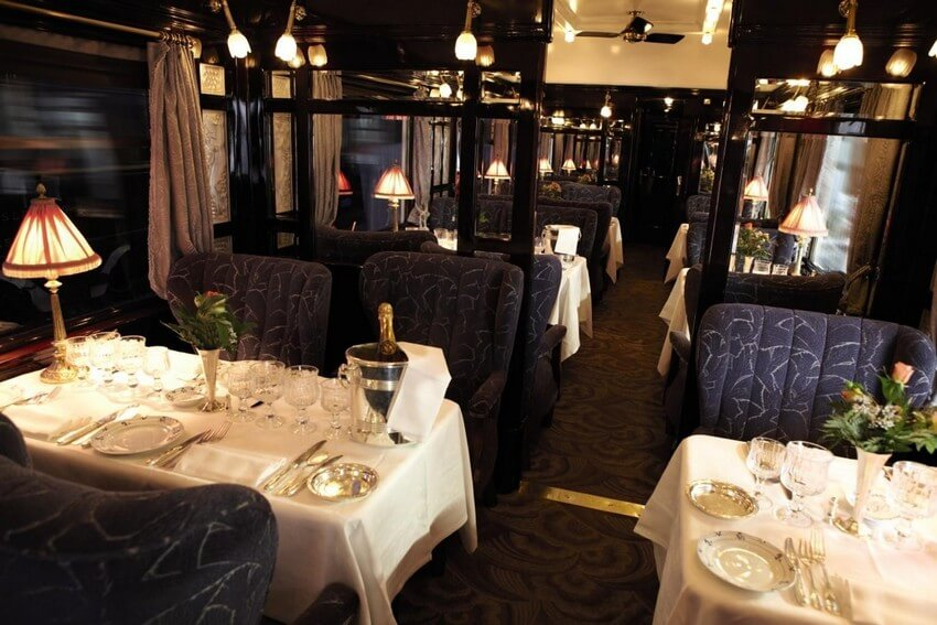 Embark on the Experience of Your Life: Orient Express Train Ride | Cote d'Azur Restaurant