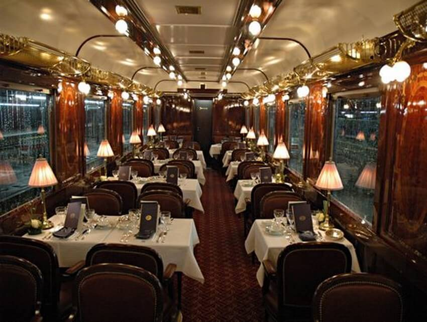 Embark on the Experience of Your Life: Orient Express Train Ride | L'Oriental Restaurant