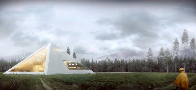 The Amazing Pyramid House Concept