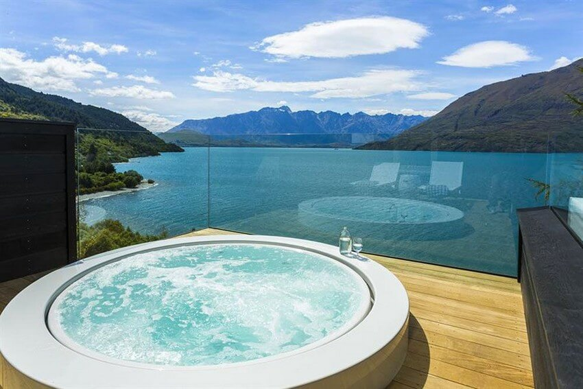 Spend Your New Zealand Vacation in this Unbelievably Stunning Hotel | Private Jacuzzi