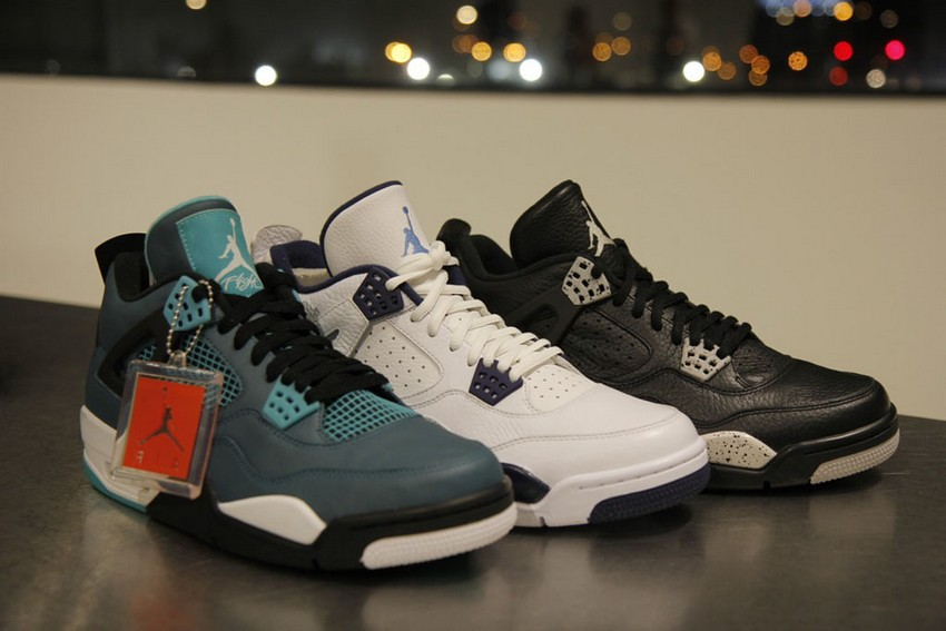 Air Jordan 4 Retro Remastered Teal Is Out On March 14 | Image Source: solecollector.com
