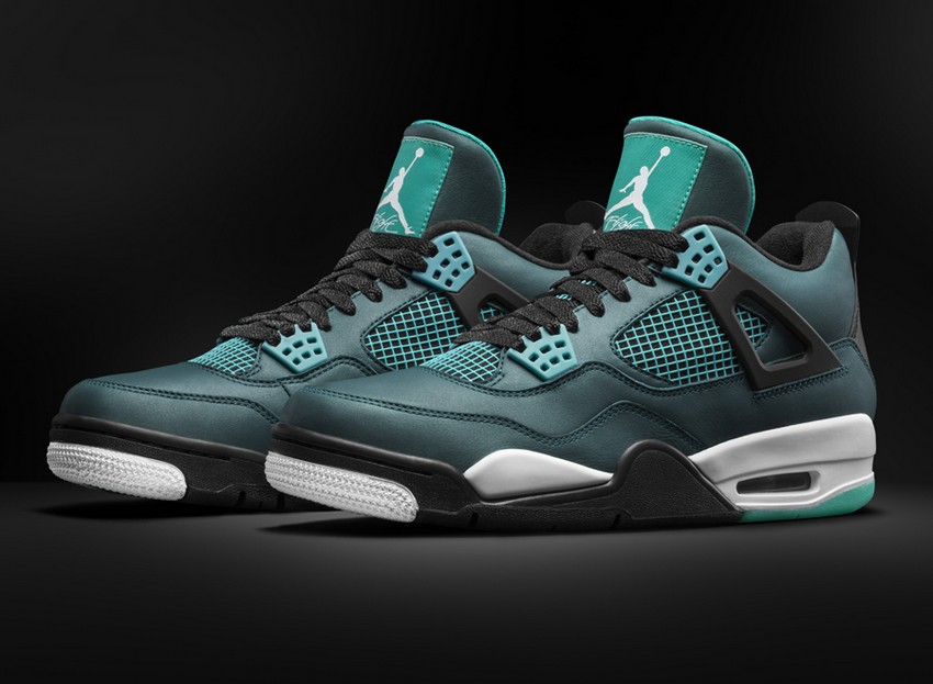 Air Jordan 4 Retro Remastered Teal Is Out On March 14 | Image Source: sneakernews.com