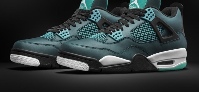 "The Air Jordan 4 Retro Remastered ""Teal"" Launches on March 14"