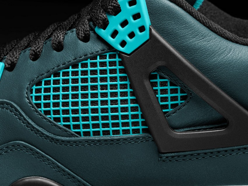 Air Jordan 4 Retro Remastered Teal Is Out On March 14 | Image Source: nitrolicious.com