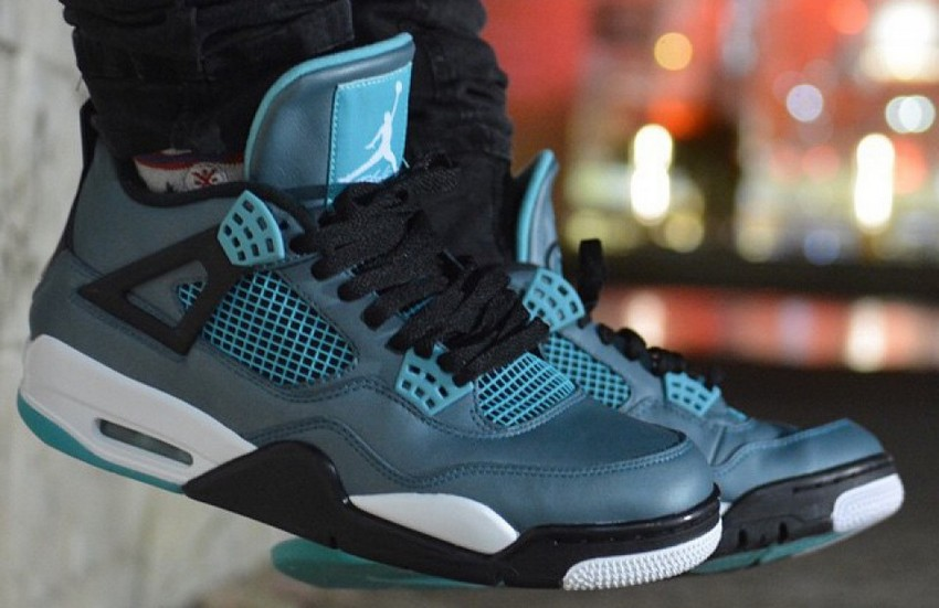 Air Jordan 4 Retro Remastered Teal Is Out On March 14 | Image Source: jordandepot.com