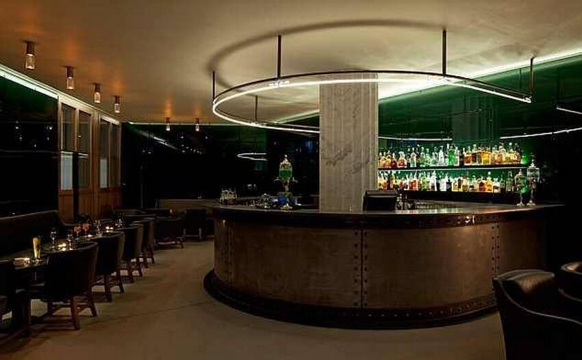 You Need to Try these Givenchy Perfume-Inspired Cocktails   Green Bar at Hotel Cafe Royal