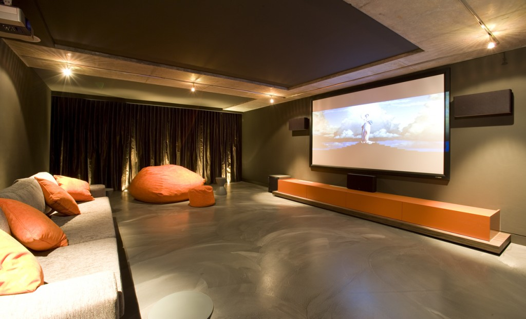 Basement home theater design ideas for your modern home Modern home theater design ideas