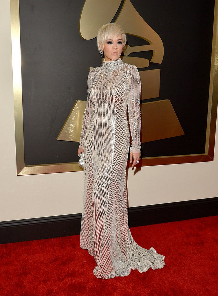 1. Rita Ora | Best Dressed Celebrities at the 2015 Grammys | Image Source: http://www.vogue.com/