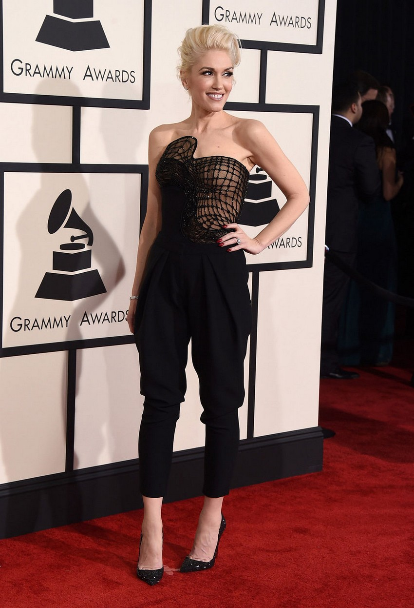 6. Gwen Stefani | Best Dressed Celebrities at the 2015 Grammys | Image Source: http://imgick.pennlive.com/
