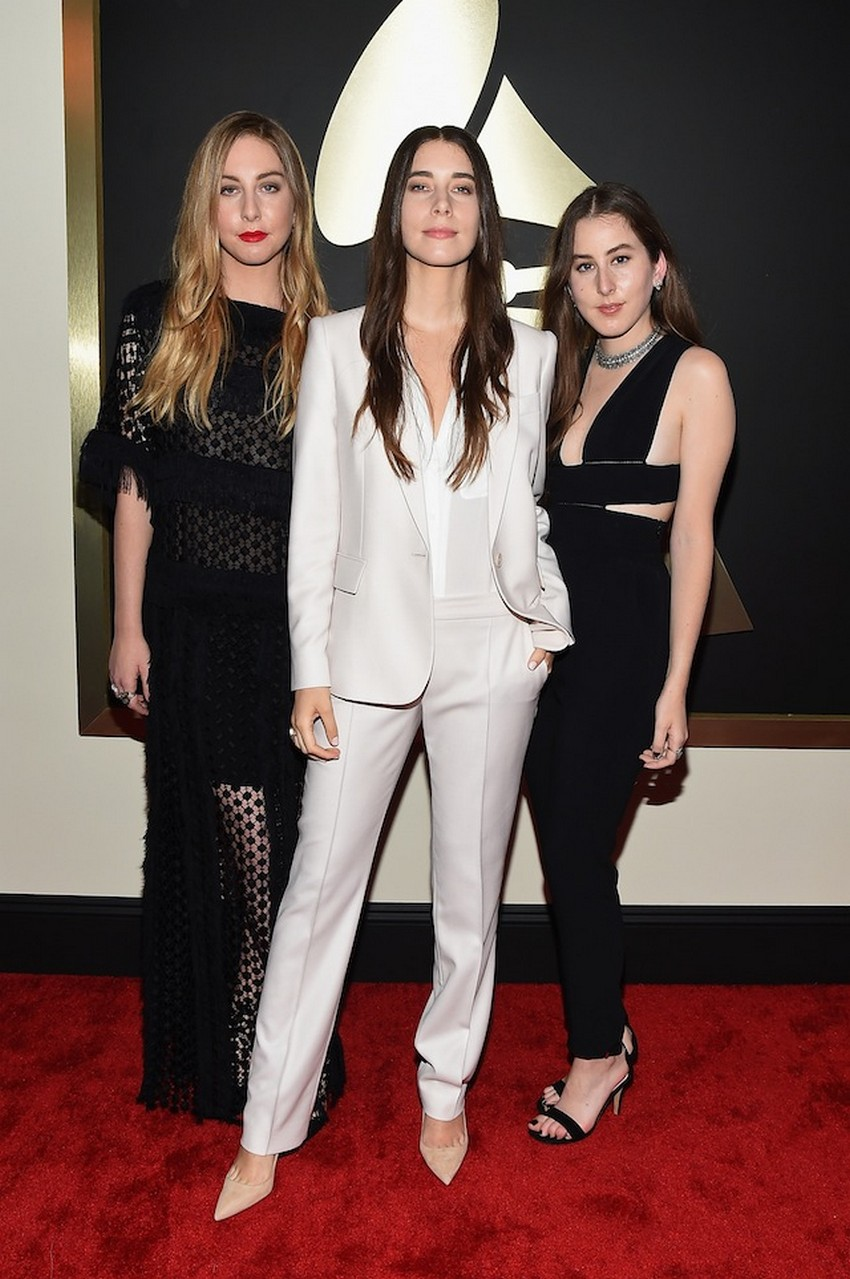 7. Danielle Haim | Best Dressed Celebrities at the 2015 Grammys | Image Source: http://cdn2.thegloss.com/