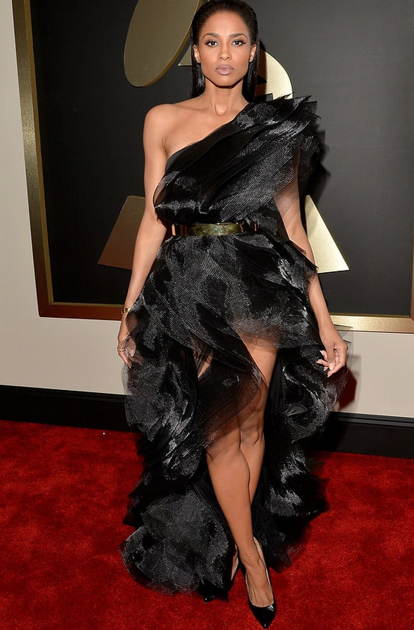 8. Ciara | Best Dressed Celebrities at the 2015 Grammys | Image Source: http://www.vogue.com/