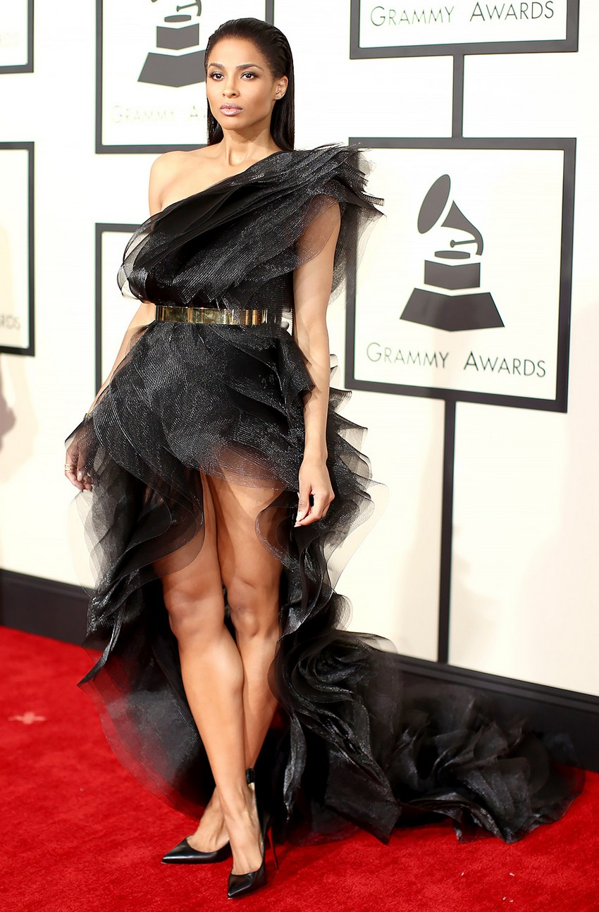 8. Ciara | Best Dressed Celebrities at the 2015 Grammys | Image Source: http://www.usmagazine.com/
