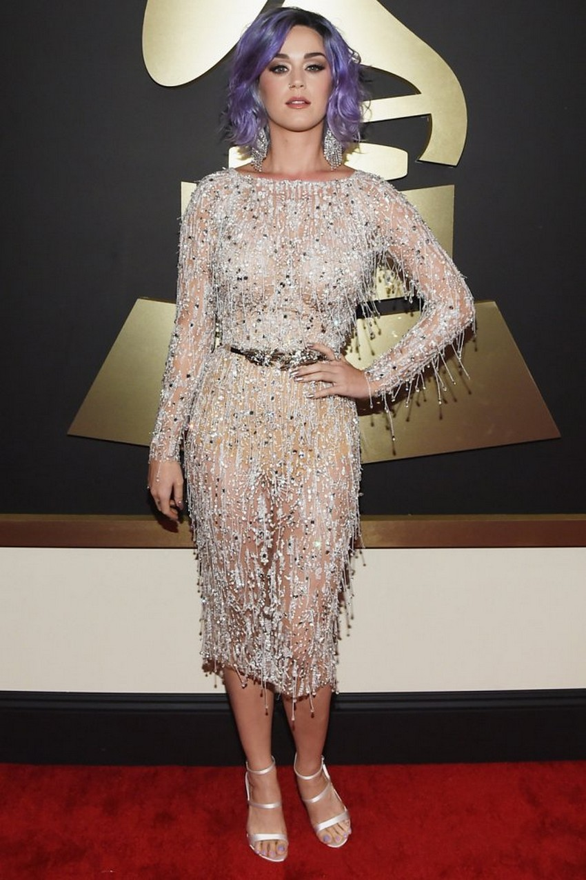 15. Katy Perry | Best Dressed Celebrities at the 2015 Grammys | Image Source: http://www.hollywoodreporter.com/