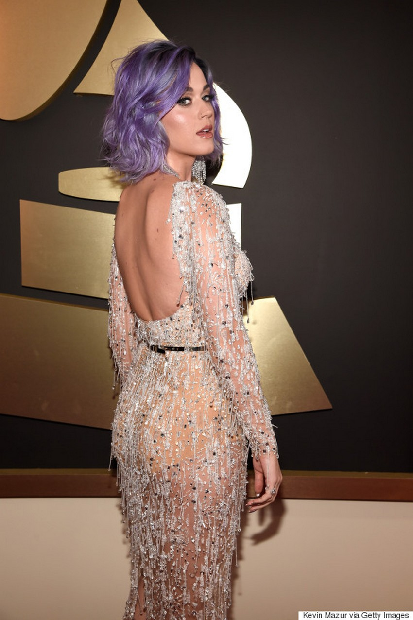 15. Katy Perry | Best Dressed Celebrities at the 2015 Grammys | Image Source: http://i.huffpost.com/