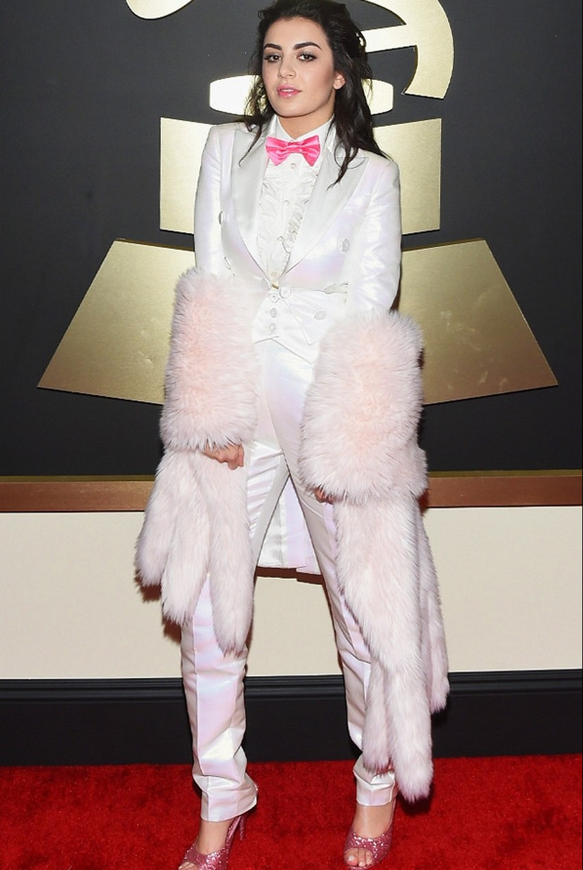 20. Charli XCX | Best Dressed Celebrities at the 2015 Grammys | Image Source: http://uk.eonline.com/