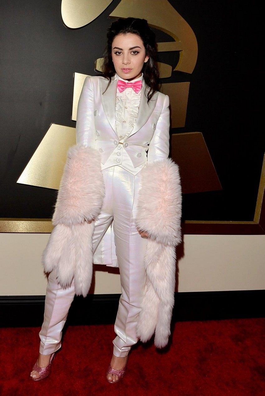 20. Charli XCX | Best Dressed Celebrities at the 2015 Grammys | Image Source: http://assets.nydailynews.com/