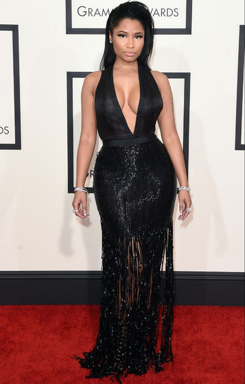 11. Nicki Minaj | Best Dressed Celebrities at the 2015 Grammys | Image Source: http://www.glamour.com/