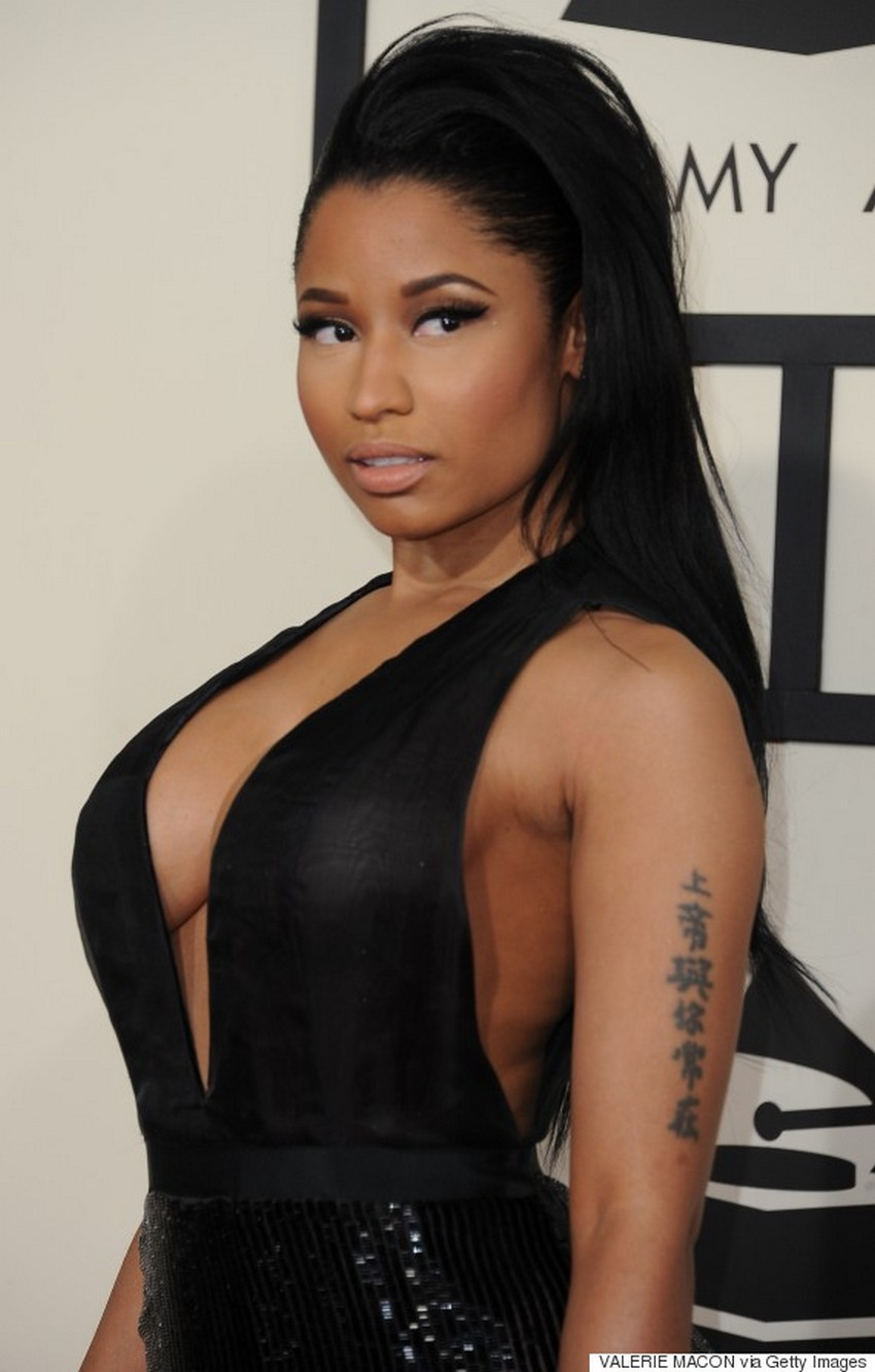 11. Nicki Minaj | Best Dressed Celebrities at the 2015 Grammys | Image Source: http://i.huffpost.com/