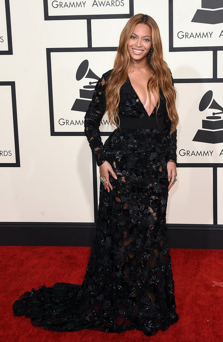 4. Beyoncé | Best Dressed Celebrities at the 2015 Grammys | Image Source: http://www.vogue.com/