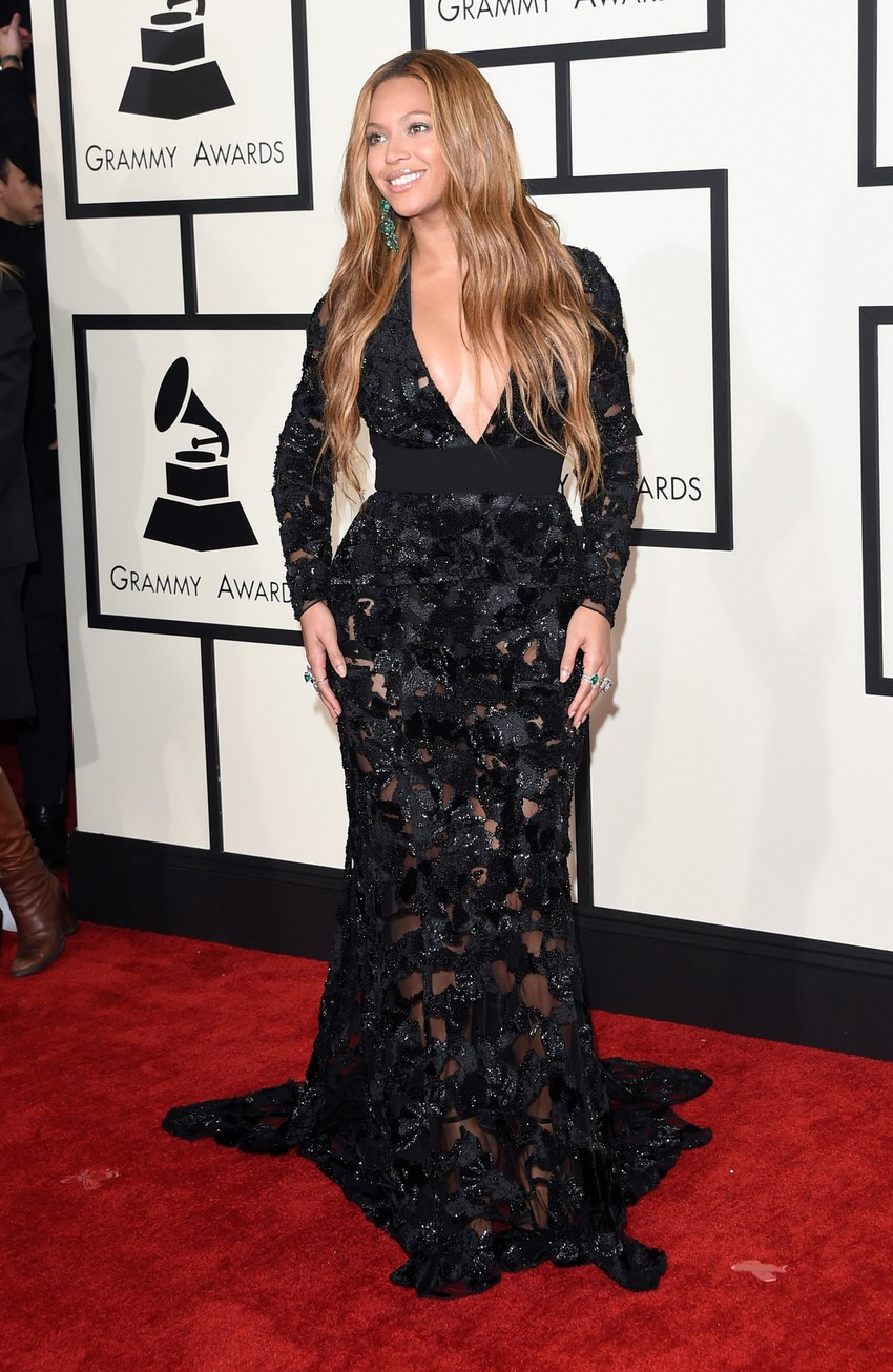 4. Beyoncé | Best Dressed Celebrities at the 2015 Grammys | Image Source: http://image-cdn.zap2it.com/
