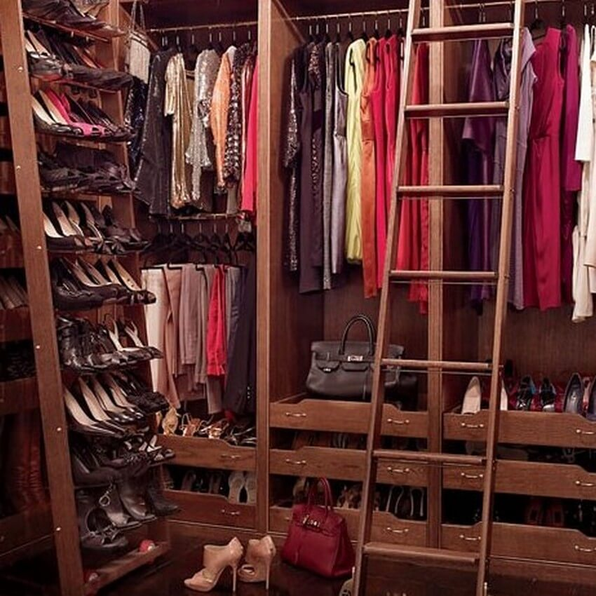 10.Brooke Shields | Get Inside the 10 Most Exquisite Celebrity Closets