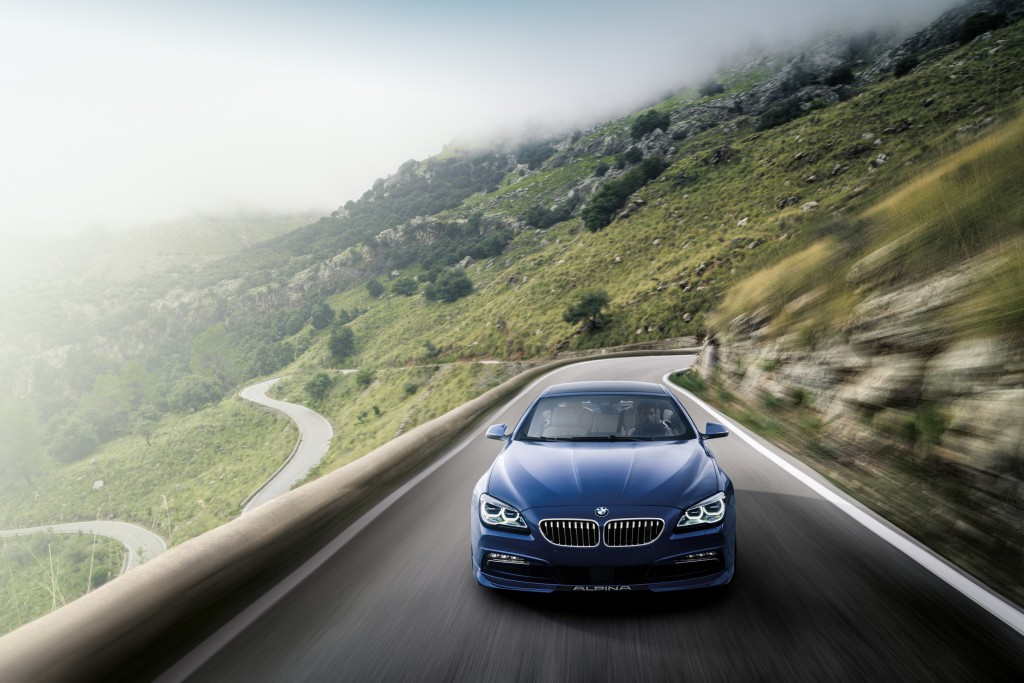Check Out the New 2016 BMW Alpina B6 xDrive Gran Coupe