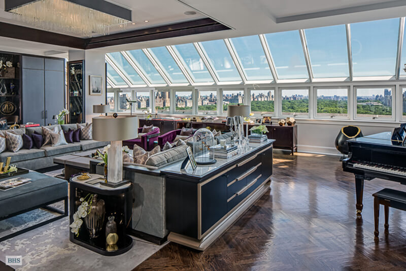 Christian Candy's 59 million Triplex Penthouse - EALUXE | via Zillow.com